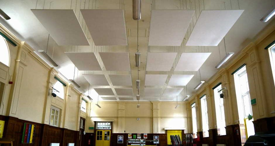 Ways to Reduce the Reverberation of Sound in a Big Hall